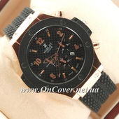 Наручные часы Hublot Big Bang Black/Pink gold Glass