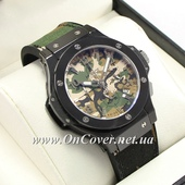 Часы наручные Hublot Big Bang Chronograph AAA Military