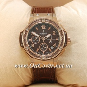 Часы наручные Hublot Tutti Frutti AAA Gold/Brown