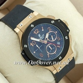 Наручные часы Hublot Big Bang AAA Black/Gold/Black
