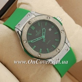 Наручные часы Hublot Big Bang AA quartz Green/Silver/Black