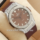 Наручные часы Hublot Big Bang AA quartz Brown/Silver/Brown