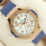 Наручные часы Hublot Big Bang AAA Blue/Gold/White