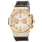 Кварцевые наручные часы Hublot Classic Fusion Quartz Black-Gold-White