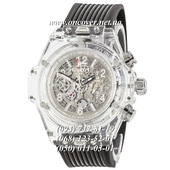 Кварцевые наручные часы Hublot Big Bang Quartz Unico Sapphire Black-White