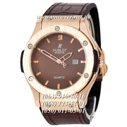 Мужские Наручные часы Hublot Classic Fusion Man Brown-Gold-Brown