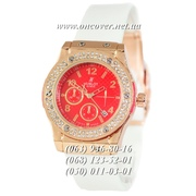 Наручные часы Hublot Big Bang Crystal Women White-Gold-Red