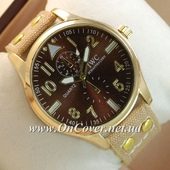 Наручные часы IWC Schaffhausen Light-brown/Gold/Brown