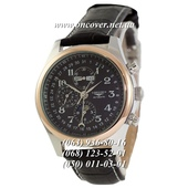 Наручные часы Longines Master Collection Moonphases Black-Silver-Gold-Black