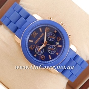 Наручные часы Michael Kors Silicone band Blue