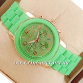 Наручные часы Michael Kors Silicone band Green