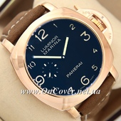 Наручные часы Panerai Officine Mechanic Gold\Blue - Brown