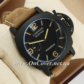 Механические часы Panerai Officine Black\Black-yelloy