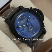Наручные часы Panerai Luminor 8 Days Grey/Black/Blue AAA