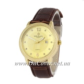 Наручные часы Patek Philippe quartz 8610-1 Brown/Gold/Gold