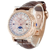 Мужские Наручные часы Patek Philippe Grand Complications 6002 Sky Moon Brown-Gold-White