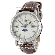 Кварцевые наручные часы Patek Philippe Grand Complications 5160 Sky Moon Brown-Silver-White
