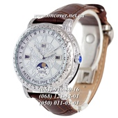 Мужские Наручные часы Patek Philippe Grand Complications 6002 Sky Moon Brown-Silver-White