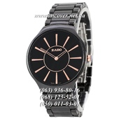 Наручные часы Rado Thinline Ceramic Black-Gold