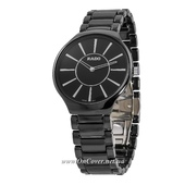 Наручные часы Rado Thinline Ceramic Black-Silver