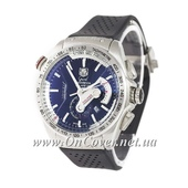Наручные кварцевые часы Tag Heuer Grand Carrera Calibre 36 quartz Chronograph Silver