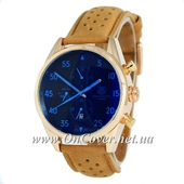 Наручные часы TAG Heuer Carrera 1887 SpaceX Mechanic Gold/Black-Blue