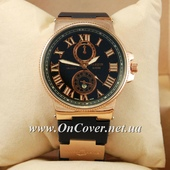 Наручные часы Ulysse Nardin quartz Gold/Blue dark