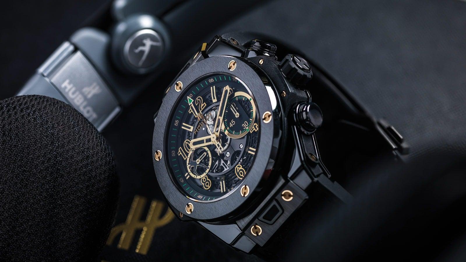 Часы мужские Hublot, оригинал.